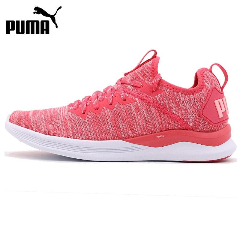 Original New Arrival 2018 PUMA IGNITE Flash evoKNIT Wns Women's Running Shoes Sneakers