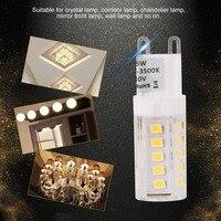 20pcs/set G9 LED Light Bulbs AC 230V 5W Mini LED Bulbs 360 Degree Lighting Halogen Lamp Bulbs for Chandelier Ceiling Lamp NEW