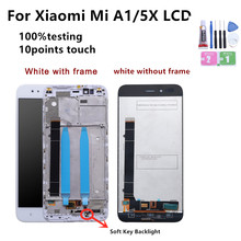 5.5 Original Display For Xiaomi Mi A1 LCD Touch Screen with Frame For Xiaomi Mi A1 LCD Display For XiaoMi 5X Mi5X Replacement aaaa original lcd for xiaomi a1 screen display digitizer assembly replacement lcd for xiaomi a1 screen with frame