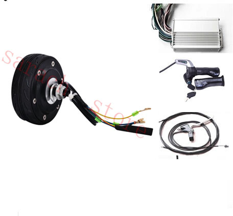 4 80W 24V wheel-motor  electric scooter hub motor electric scooter conversion kit купить