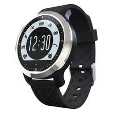 Beste Preis Mann frau F69 Smartwatch Uhren Von 2016 Montre Tragbare Geräte Mit Nachricht Reminde Monitor Passometer Gelb F69