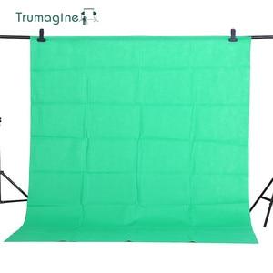 Image 2 - 1.6X2M/5.2X6.5ft Shooting Green Screen Photo Background Backdrops Non woven Fabric Photography Studio Chromakey Fotografia Cloth
