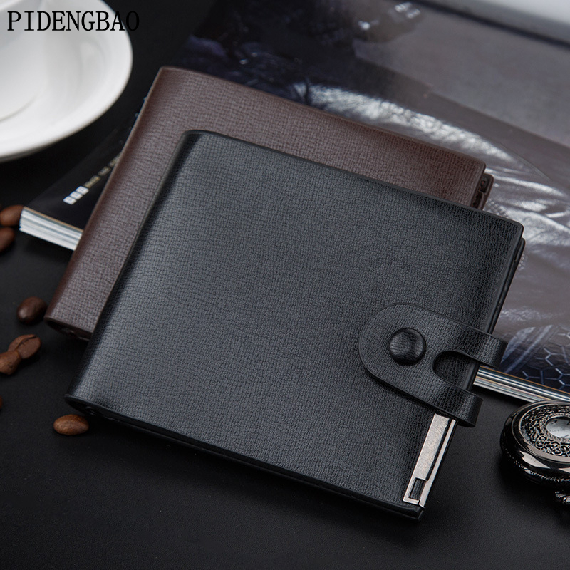 PIDENGBA 2017 men wallets famous brand Retro wallet male leather purse card cash Splicing Lock holder bifold wallet purse pocket original laptop keyboard for lenovo ideapad p500 z500 z500a z500g us layout with backlit fully tested