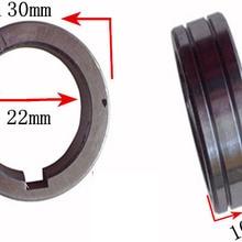 2 шт. binzel Железный ролик для подачи проволоки для сварочного аппарата 30x22x10 мм проволочное колесо