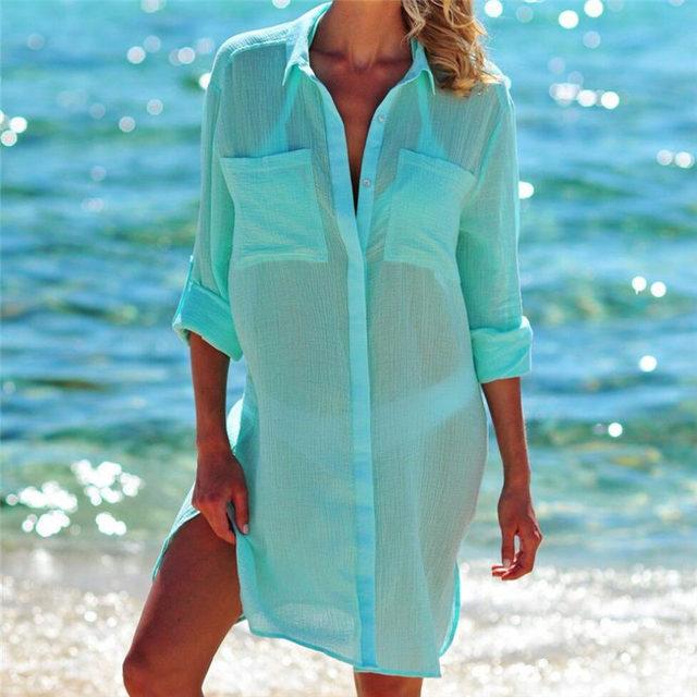 Kaftan Beach Shirt