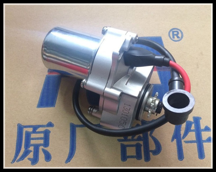 Starter Motor Lower Mounted Downside LJ50T JH50 90cc 100cc 110cc 125cc Pit Dirt Monyet Bike ATV Quad Moped Scooter Motorcycle