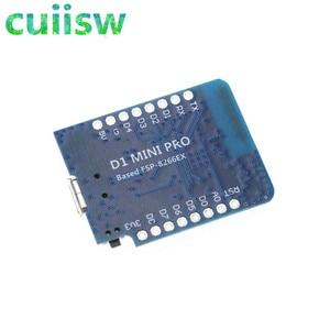 Image 3 - 5PCS WeMos D1 Mini ESP8266 WIFI Module Board Pro 16M Bytes External Antenna Contor ESP8266 WIFI IOT Development Board Micro USB