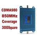 Функция ЖК-дисплей новой модели CDMA 980, с высоким коэффициентом усиления CDMA 850 МГц мобильный телефон усилитель сигнала, сигнала GSM репитер cdma усилитель