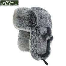 2016 New Winter Casual Brand High Quality Copy Fox Wool Hats Men Women Windproof Warm Bomber