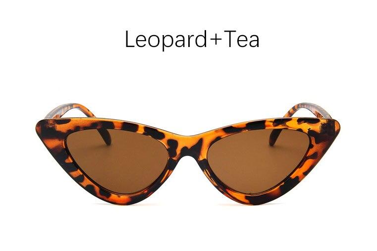 cat eye shade for women fashion sunglasses brand woman vintage retro triangular cateye glasses oculos feminino sunglasses Sexy 9
