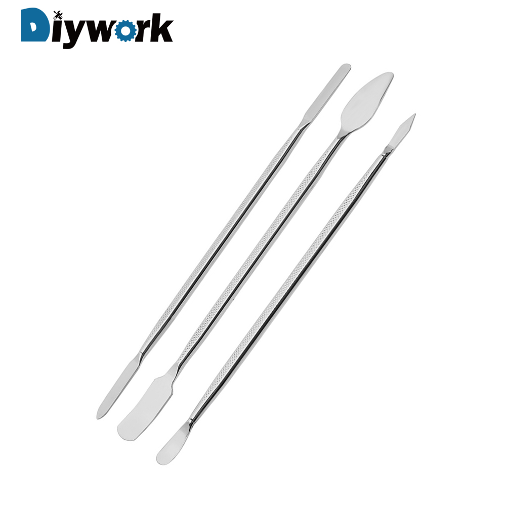 DIYWORK Laptop Tablet Repairing Tools 3 pcs/set For Samsung Mobile Phone Repairing Opening Tools For iPhone Metal Crowbar image