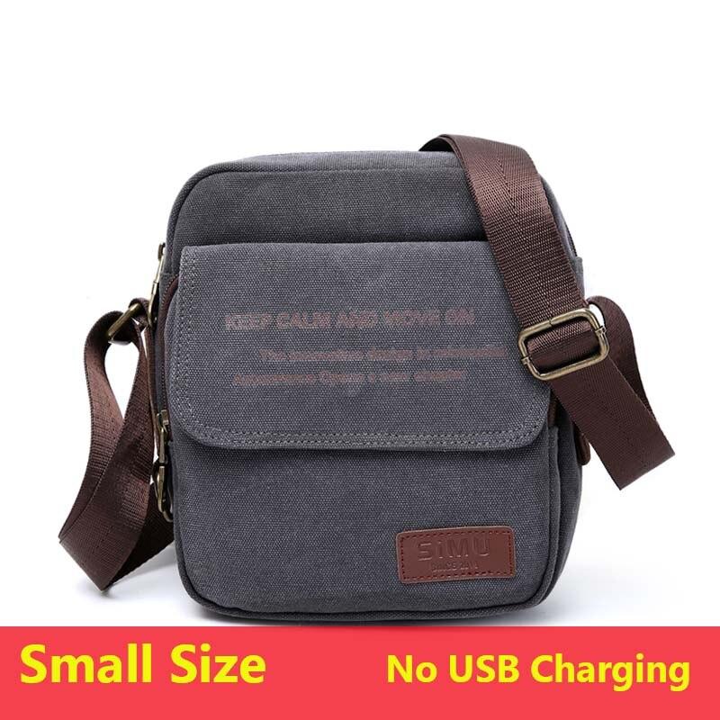 507baaa3b1 Dropwow Man Urban Daily Carry Bag High Quality Men Canvas Shoulder ...