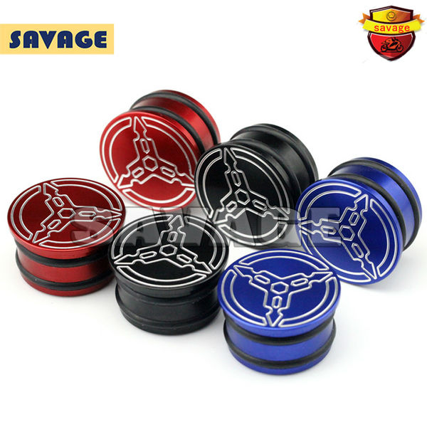 For YAMAHA MT25 MT03 MT-25 MT-03 2015-2016 Motorcycle Accessories CNC Aluminum Frame Hole Caps Cover Red/Blue/Black