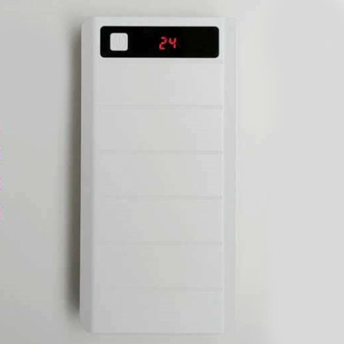 Centechia Портативный USB Мощность банк Shell Box DIY USB мобильного Мощность банк Зарядное устройство чехол Pack 8 шт. 18650 Батарея держатель ЖК-дисплей