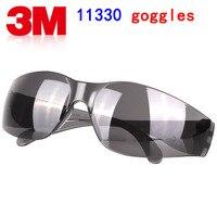 3 м 11330 защитные очки подлинной безопасности 3m защитные очки Тип света темно-серый охране труда ездить защитные очки