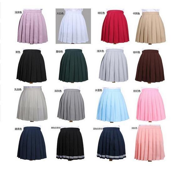 Gryffindor Hermione 2019 High Waist Pleated Skirt Anime Cosplay School Uniform Student Girl Pleated Skirt for Girl