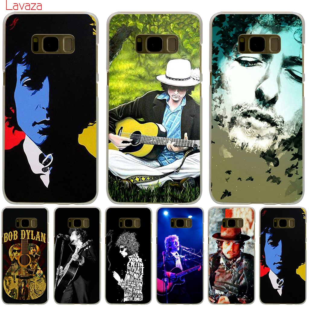 Lavaza Bob Dylan Hard Phone Cover Case for Samsung Galaxy S6 S7 Edge S8 S9 Plus S3 S4 S5 & Mini Case