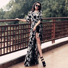 2019 Summer Woman Shirts Chiffon Long Kimono Cardigan Womens Shirt Blouse Spring Sleeve Sashes Patterns Female Blouses