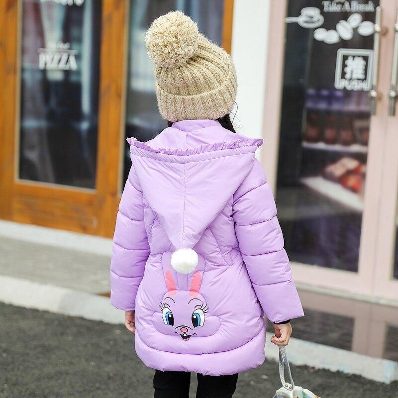 Детская зимняя хлопковая теплая куртка на подкладке из хлопка Одежда на подкладке из хлопка зимняя куртка парка для девочек, живое зимнее пальто