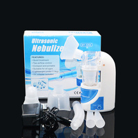 Home Ultrasonic Nebulizer Compact And Portable Inhalers Nebulizer Mist Discharge Asthma Inhaler Mini Automizer EU US