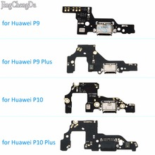 JCD New USB Charging Charger Port Dock Connector Flex Cable with Microphone Board For Huawei P9 P10 P9 Plus P10 Plus