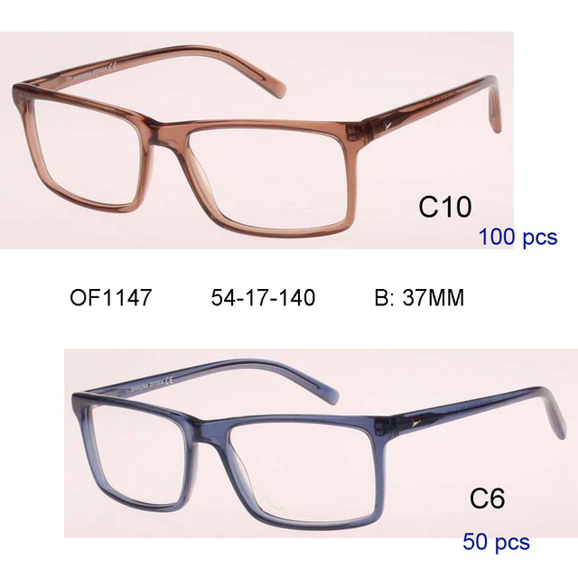 mix wholesale high quality male Prescription Glasses Handmade ...