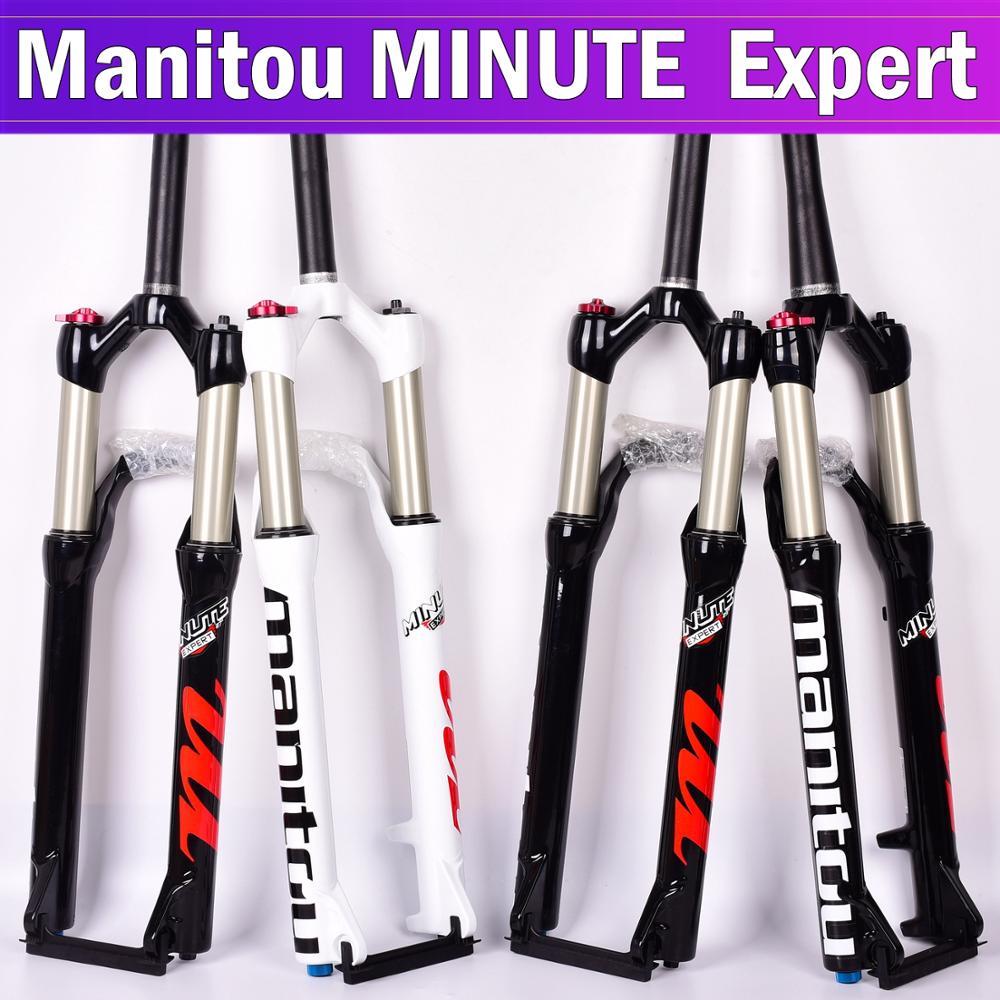 Garfo de bicicleta manitou minuto de suspensão especialista 29er 29 polegada mountain bike garfos ar remoto pk facão comp markhor 100*9mm am xc
