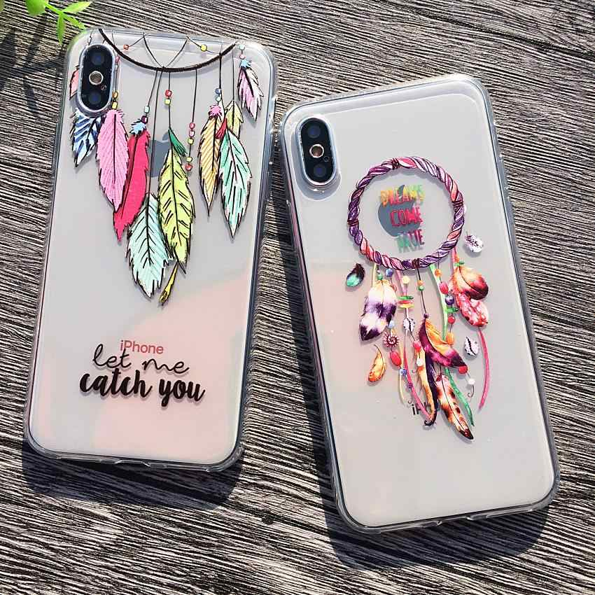 92ddd3e23b Soft TPU Case For iPhone X 7 Plus Case Cover Celular Phone Cases Capa For  iPhone8