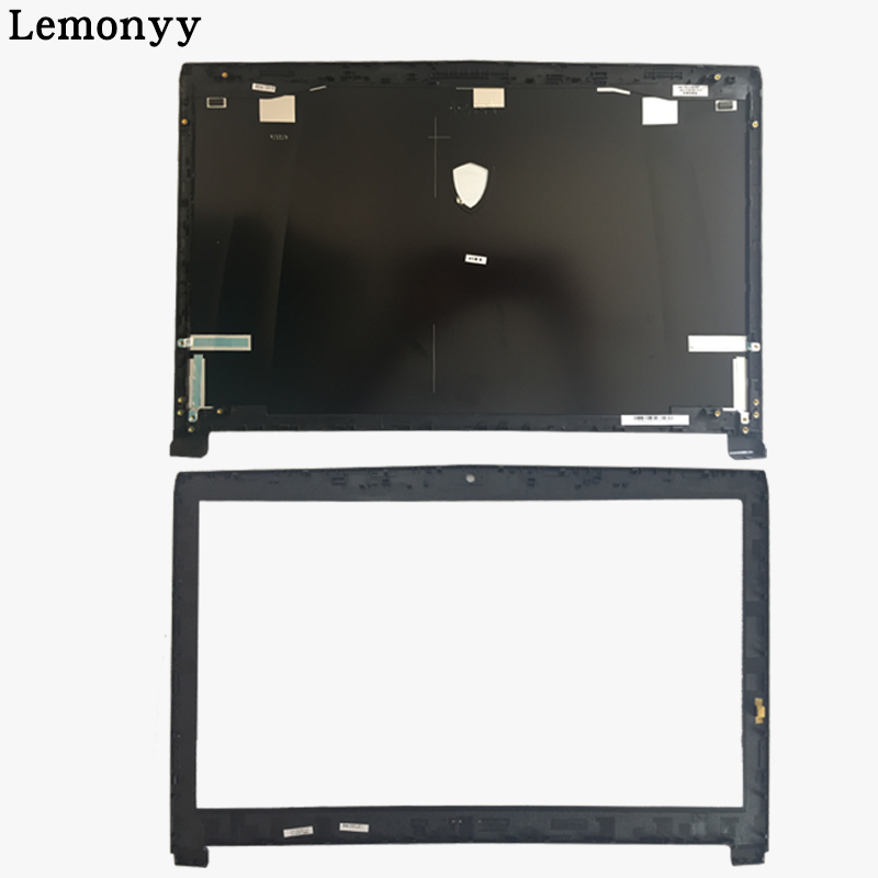 все цены на  NEW cover case For MSI GE72 2QD APACHE PRO MS-1792 SERIES LCD DISPLAY BACK LCD COVER Black/LCD Bezel Cover  онлайн