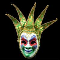 Top Grade Handmade Halloween Christmas masquerade masks floral decor glitter venice mask Party Cosplay mask party wedding mask