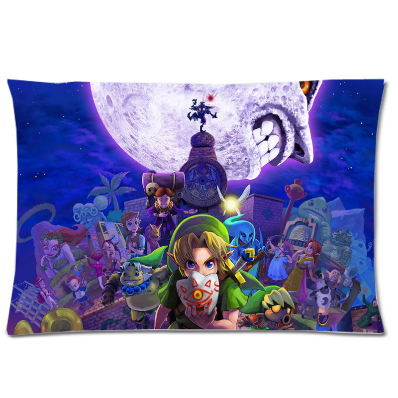 Fashion Legend Of Zelda Printing Pillow Case Soft