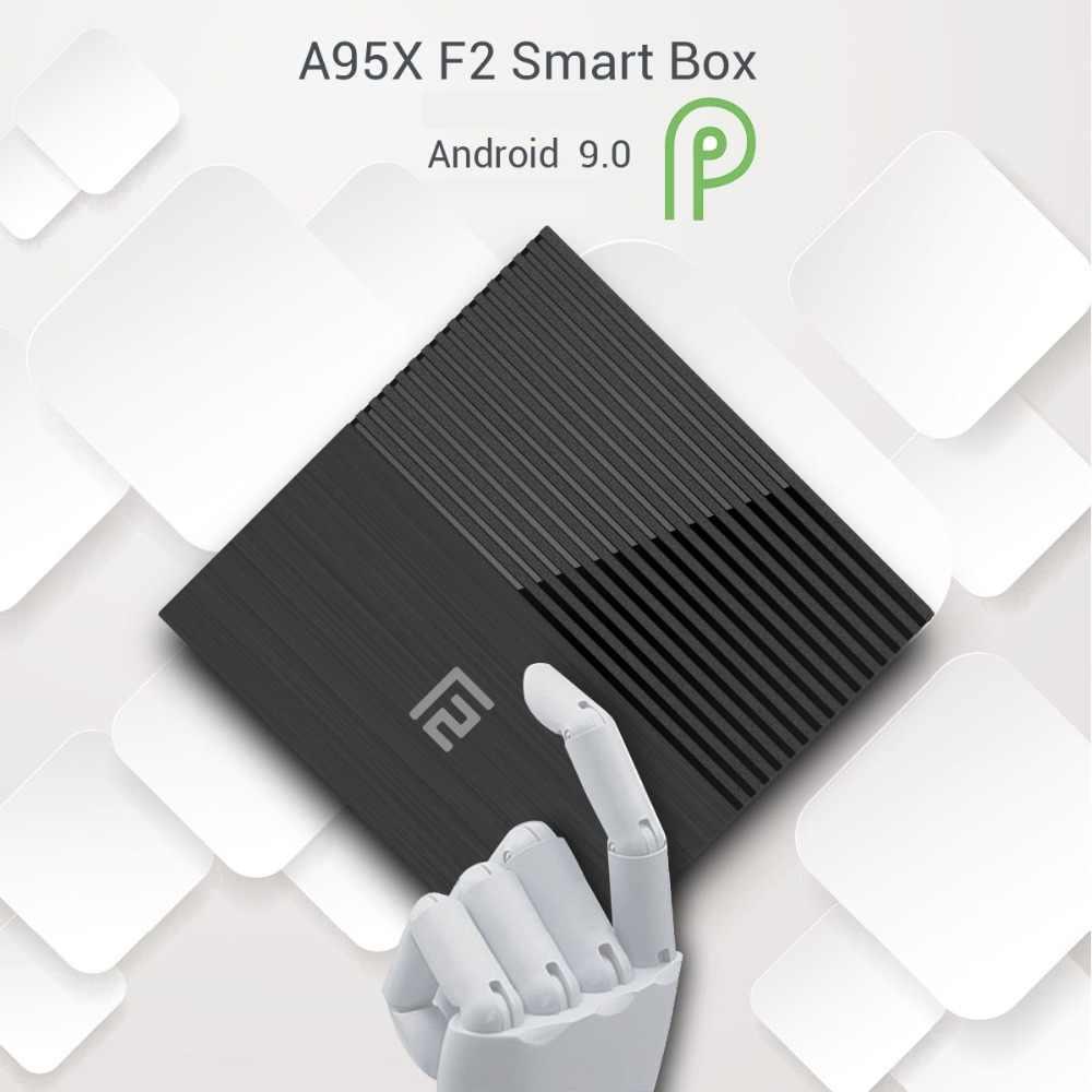 20 шт./лот Бесплатная доставка dhl (A95XF2 tv Box Android 9,0 S905X2 4G 32G 2,4G wifi BT (10 шт) + i8 Клавиатура (10 шт)