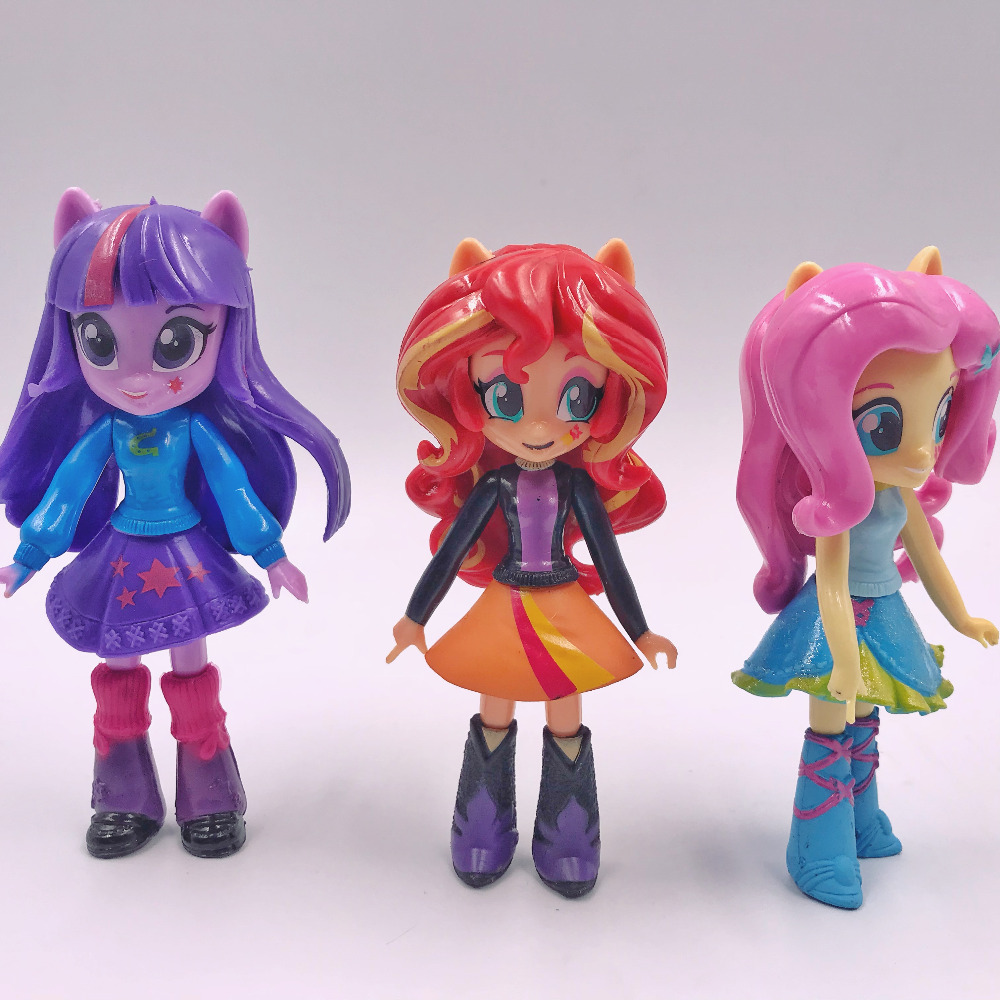 My Little Cute Pony Girl Figurines 13cm 23