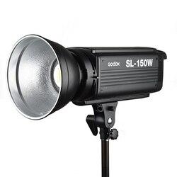 New LED Godox SL-150W 150Ws White Version 5600K Continuous LED Studio Video Light Lamp Bowens Mount + Remote Control