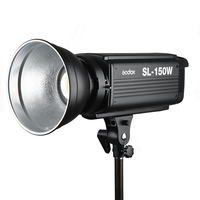 New LED Godox SL 150W 150Ws White Version 5600K Continuous LED Studio Video Light Lamp Bowens Mount + Remote Control