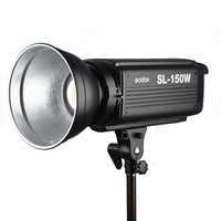 Nouveau LED Godox SL-150W 150Ws Version blanche 5600 K lampe de lumière vidéo à studio LED continu Bowens Mount + télécommande