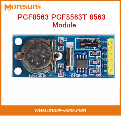 Fast Free Ship 10pcs/lot New PCF8563 PCF8563T 8563 Module Clock Module RTC Module