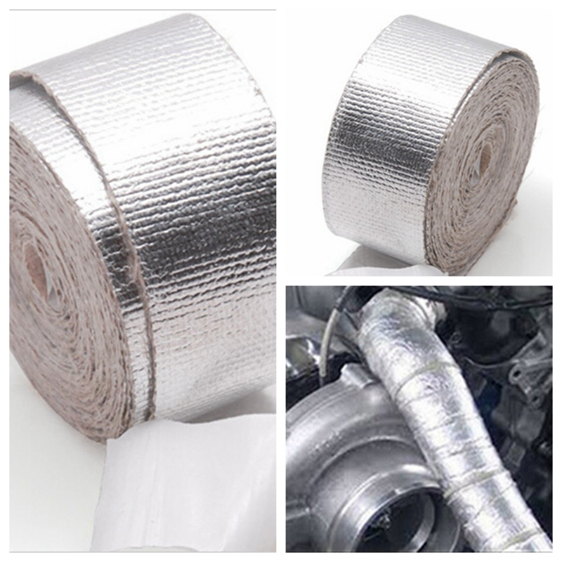 Racing car turbo Pipe insulation wrap Adhesive Backed Tape Heat Shield Resistant Wrap For All pipe/Suction Kit for VW golf 7