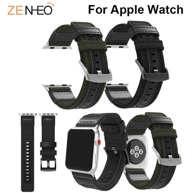 Watches Watchbands For Iwatch Series 4/3/2/1 Real Genuine Leather For Apple Watch Single Tour Band Strap Wristband 40mm 44mm 38mm 42mm Watchband