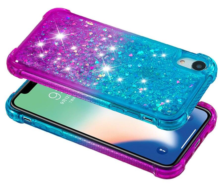 iphone xr Glitter Case (2)