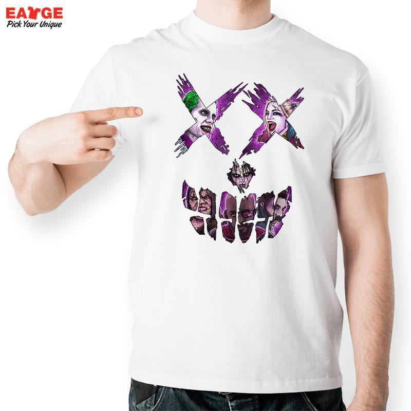 Aliexpress.com : Buy Guys In Suicide Squad Skull T Shirt Pop Comic ...