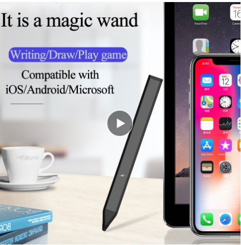 WIWU Tablet Touch Pen For IPad Pro 9.7 10.5 12.9 Stylus Pencil Compatible With IOS/Android Mobile Phone Touch Pencil P888