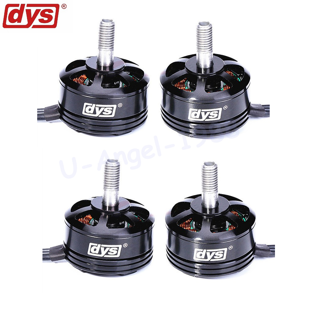 4pcs/lot DYS SE2205 2300KV 2550KV 3-5S Brushless Motor 2CW 2CCW for RC Helicopter Quadcopter QAV250 QAV210 ZMR250 QAV-R 220 dys se1806 2550kv cw ccw brushless motor set