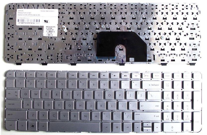 US Silver New English Replace laptop keyboard FOR HP DV6-6000 6029 6B11TX 6C40 6C41TX 6151TX 6101TX 6153 6100