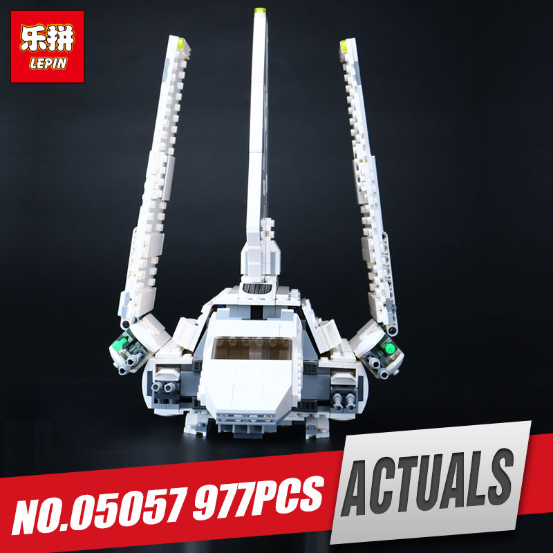 LEPIN 05057 New Star Series Shuttle set Tydirium Building Blocks Bricks Assembled Wars Toys Compatible with 75094 for Gifts new lp2k series contactor lp2k06015 lp2k06015md lp2 k06015md 220v dc