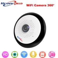 360 Degree Mini Wireless IP Camera Wifi Smart Panoramin Webcam 960P Night Vision Support P2P Two