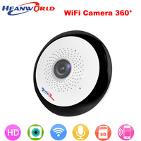 360 Degree Mini Wireless IP Camera Wifi Smart Panoramin Webcam 960P Night Vision Support P2P Two