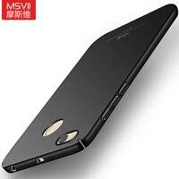MSVII Brand For Xiaomi Redmi 4X Case Superior Matte Hard Coque Back Cover PC Fashion Phone