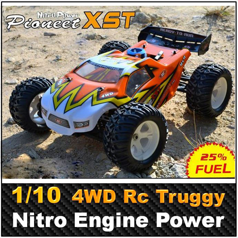 Rc Car Sst Racing Pioneer Xst 1 10 Scale 20cxp Nitro Engine 4wd