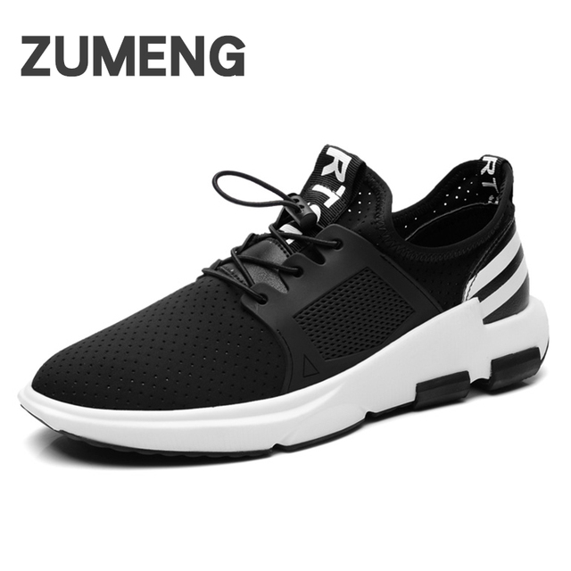 PROVDBOY Men Sneakers Sport Breathable PU Free Run Trail Running Shoes For  Men Beginner Lace-up Breathable Scarpe Uomo Sportive 40a1d2b3d6f